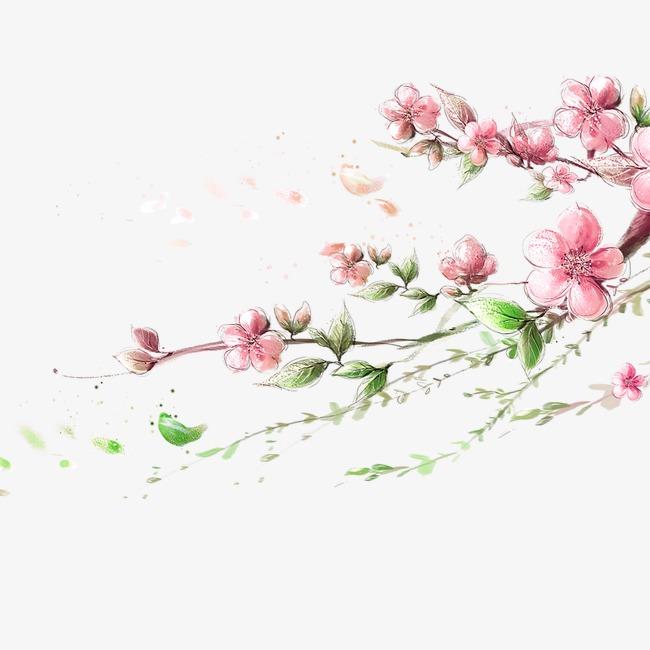 海报装饰花