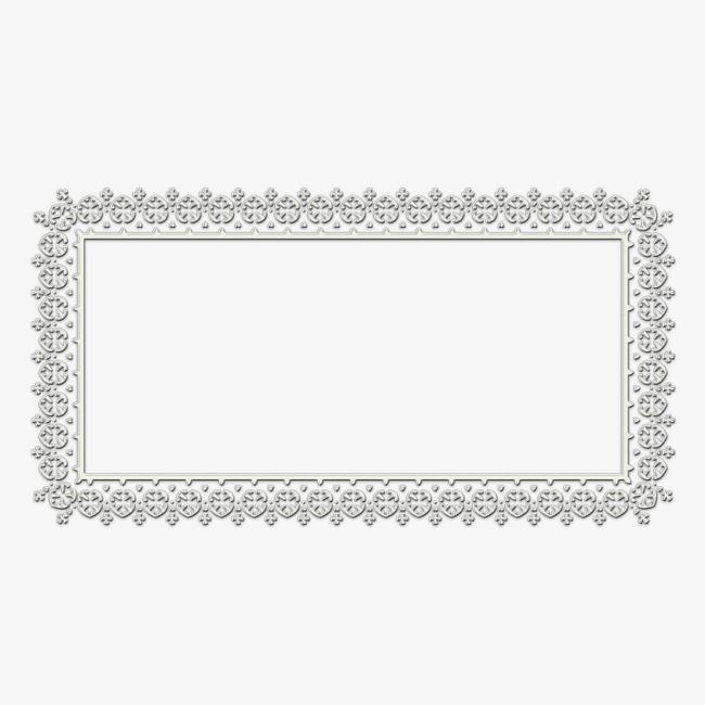 条形花纹边框png素材-90设计