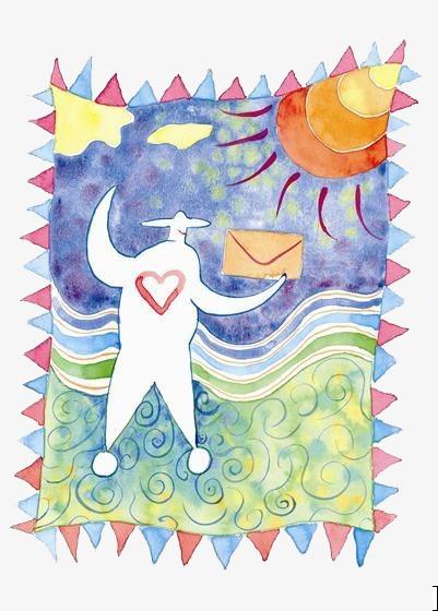 手绘生日贺卡素材图片免费下载 高清装饰图案psd 千库网 图片编号图片
