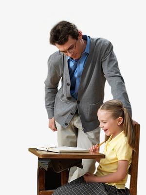 男教师图片