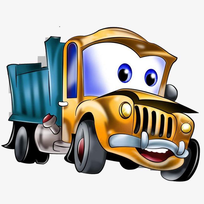 卡通卡车素材