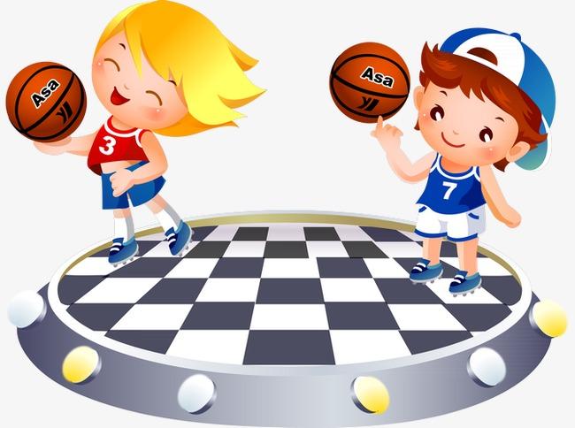 手绘篮球表演 手绘篮球 手绘小孩             此素材是90设计网官方