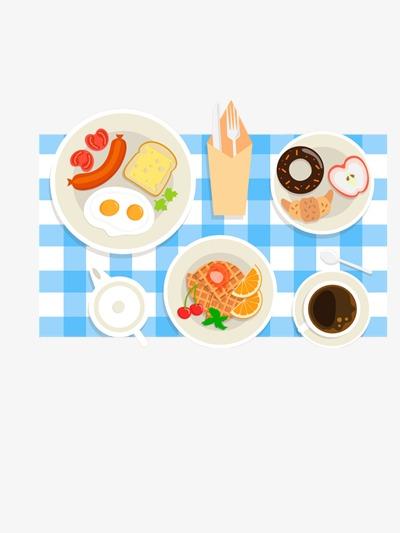 手绘早餐素材图片免费下载 高清卡通手绘png 千库网 图片编号3370920