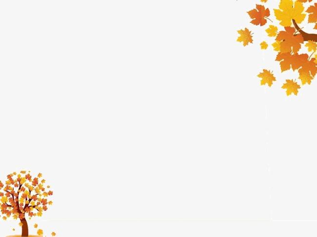 秋天的季节ppt模板图片