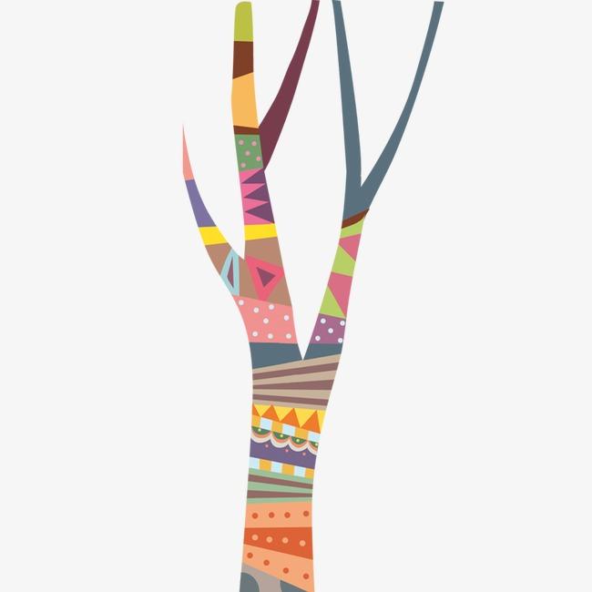 图片 > 【png】 卡通彩色树干  分类:手绘动漫 类目:其他 格式:png 体