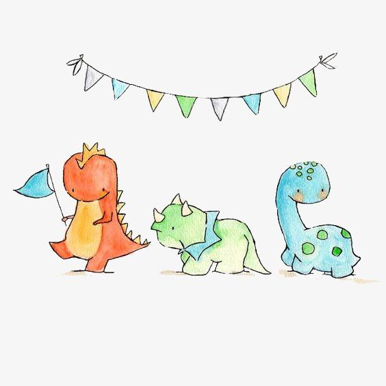 卡通恐龙 可爱 儿童绘本             此素材是90设计网官方设计出品图片