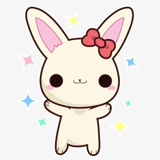 卡通小兔子