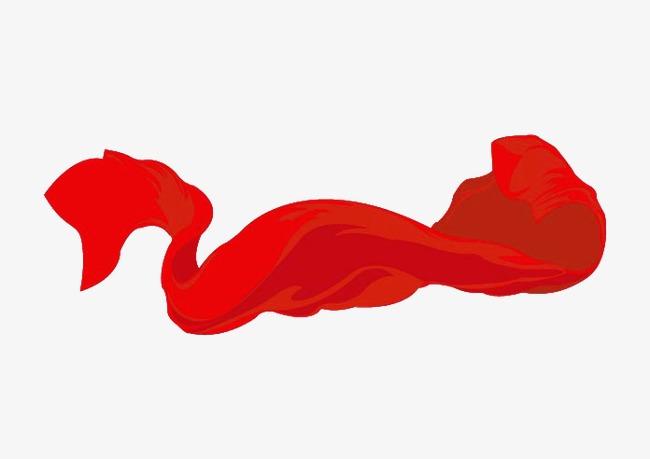 飘带 红色 飘扬 动感             此素材是90设计网官方设计出品,均