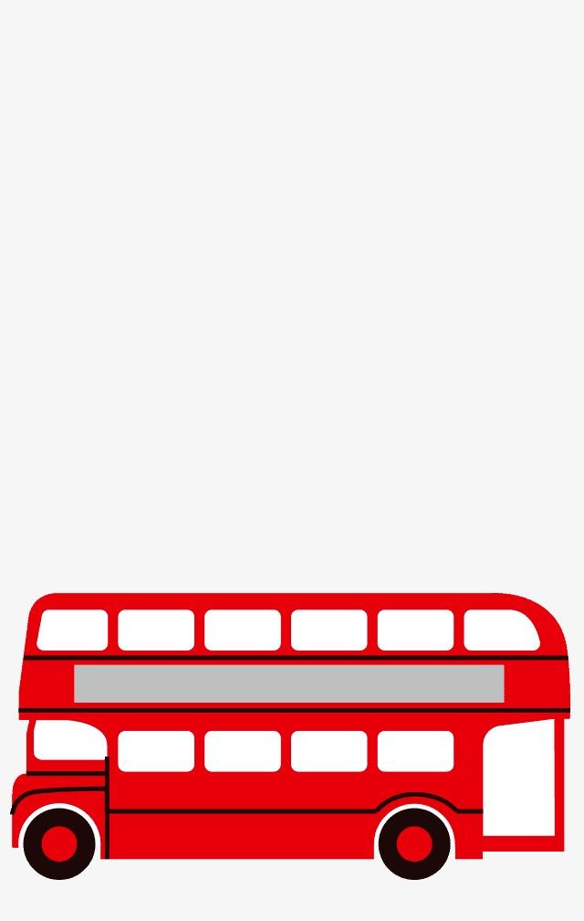 卡通公交车图片