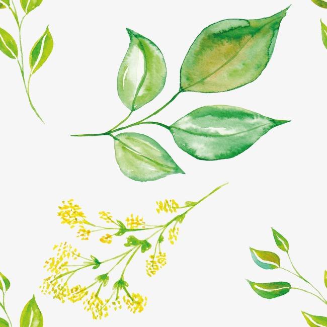 背景 壁纸 绿色 绿叶 设计 矢量 矢量图 树叶 素材 植物 桌面 650_650图片