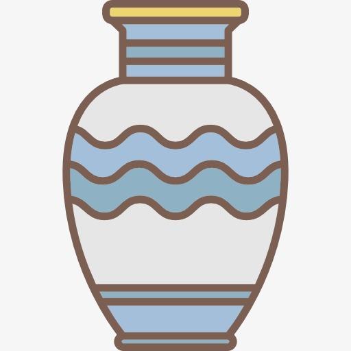 自制花瓶图案手绘