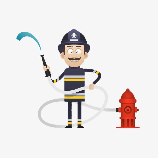 简单的消防员图