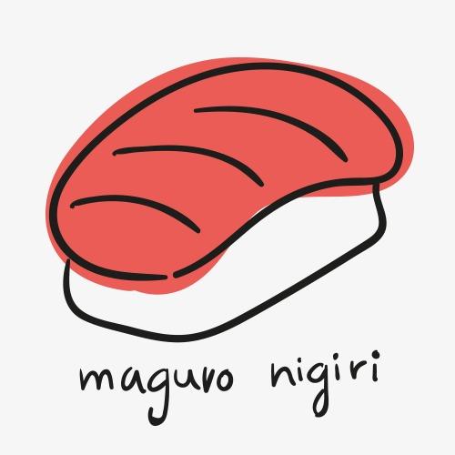 简笔画寿司