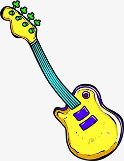 吉他 手绘