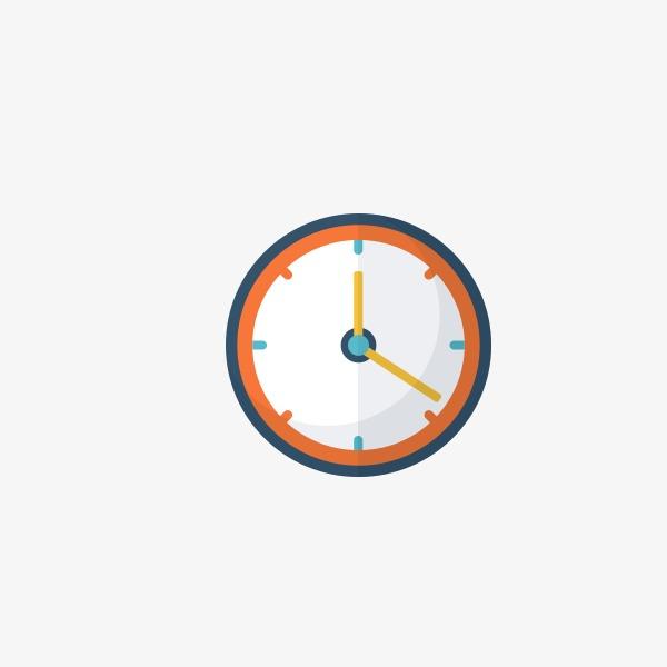 手绘时钟图标