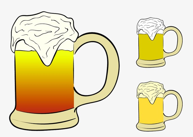 泡面啤酒png素材-90设计