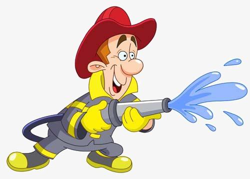 卡通消防员素材图片免费下载 高清图片png 千库网 图片编号3504574