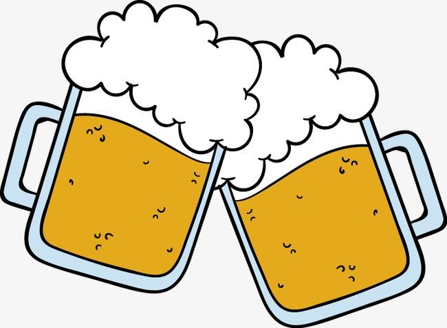 手绘啤酒图标