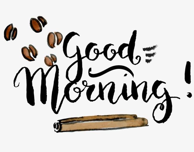 手绘咖啡豆