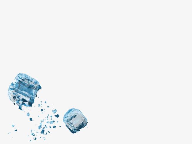 冰块ppt背景png素材-90设计图片