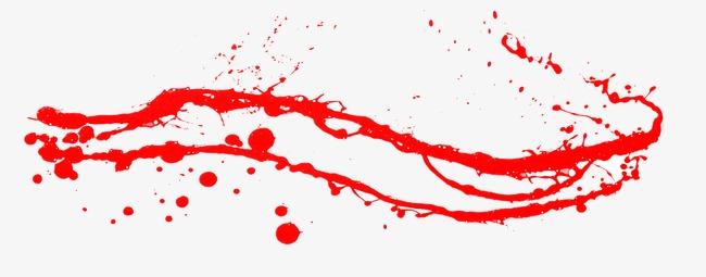 手绘血迹怎么画