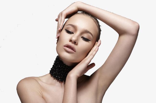 肌肤女模特