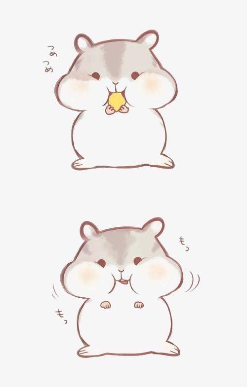 手绘松鼠 动物 卡通松鼠 可爱松鼠             此素材是90设计网