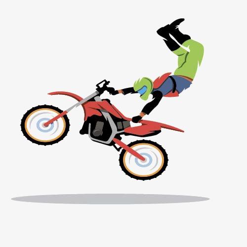 卡通自行车
