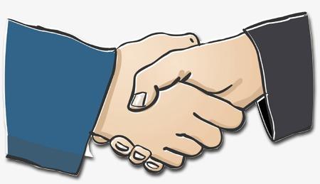 握手 商务人士 合作 友好 共赢             此素材是90设计网官方