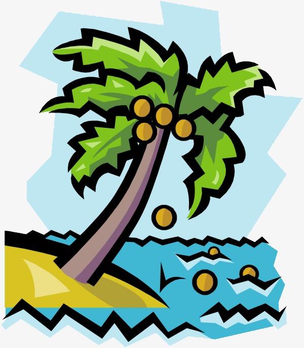 卡通椰子图片
