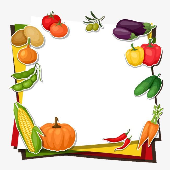 有机蔬菜_卡通蔬菜png素材-90设计