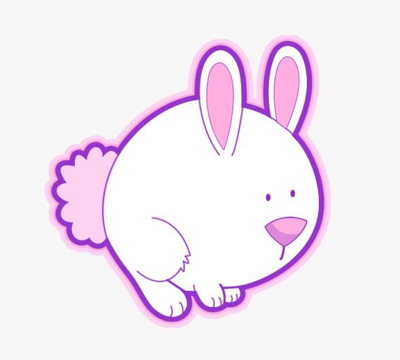 胖胖的小兔子