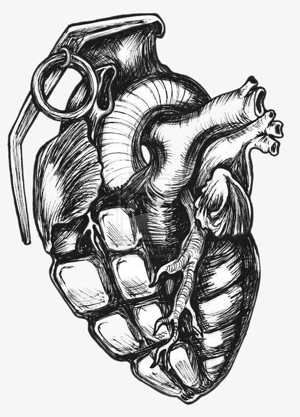 创意心脏手雷
