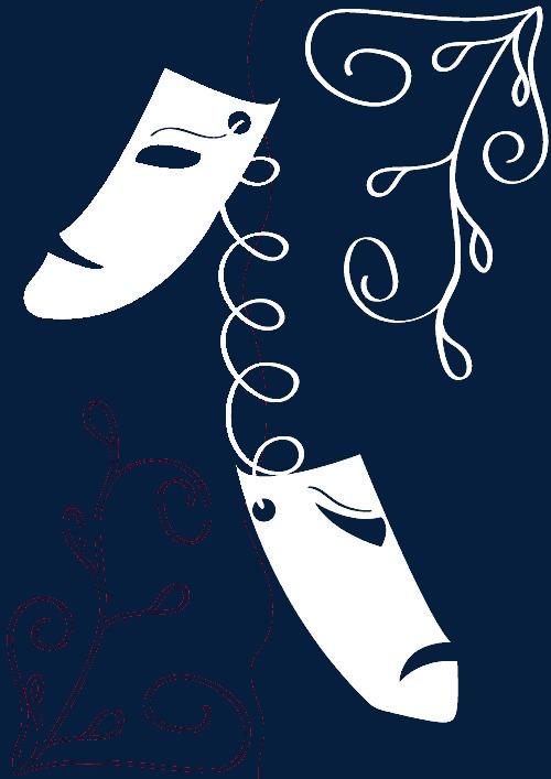 花纹和面具