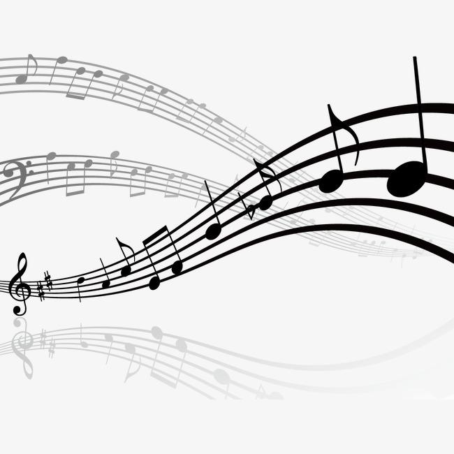 矢量音符和乐谱素材图片免费下载 高清装饰图案psd 千库网 图片编号3646117