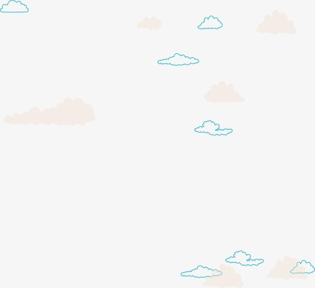 矢量ppt设计云状背景图图片