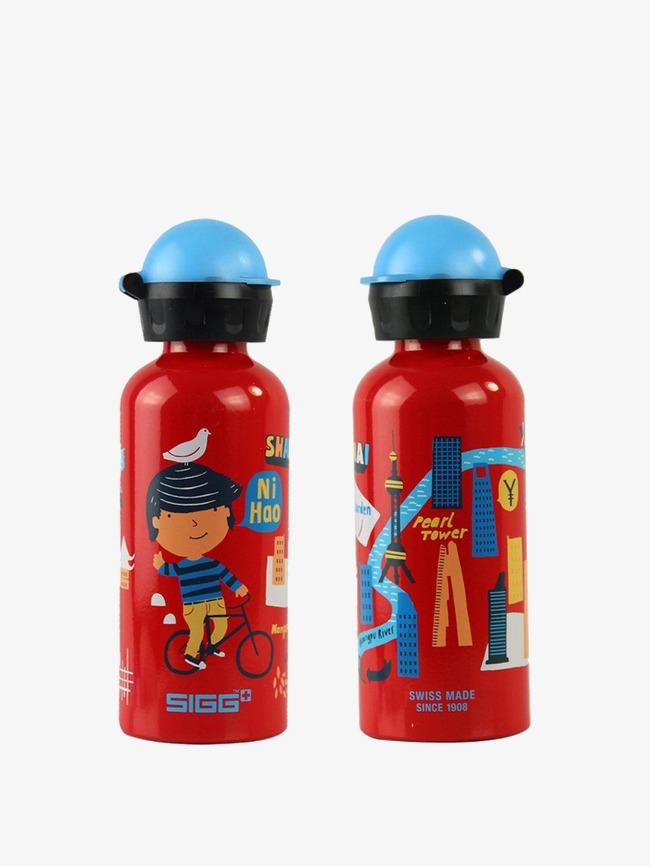 希格儿童卡通学生水壶