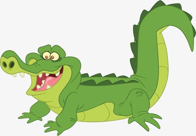 90设计提供高清png手绘动漫素材免费下载,本次卡通鳄鱼作品为设计师启