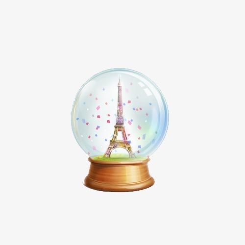 手绘水晶球