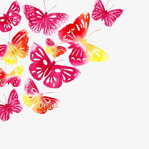 创意海报_创意蝴蝶png素材-90设计