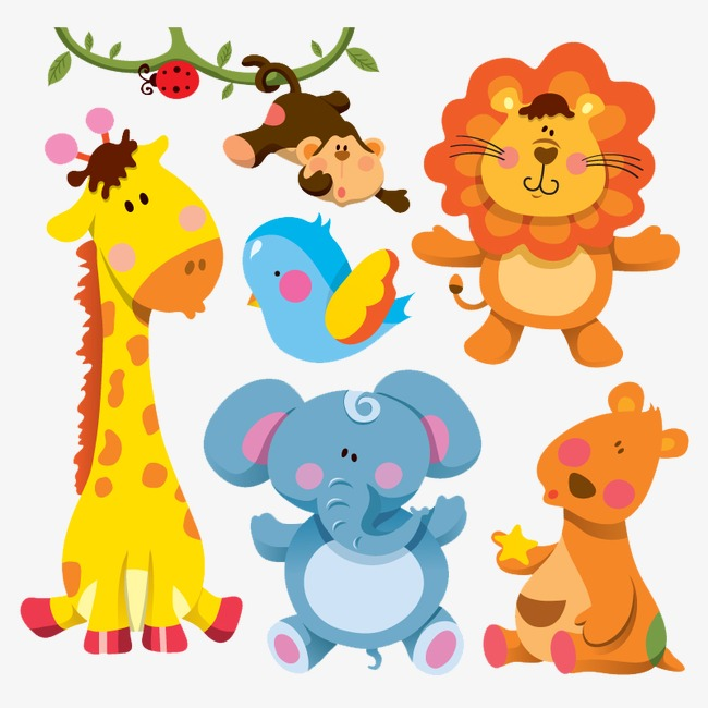 图片 > 【png】 可爱的卡通动物  分类:手绘动漫 类目:其他 格式:png