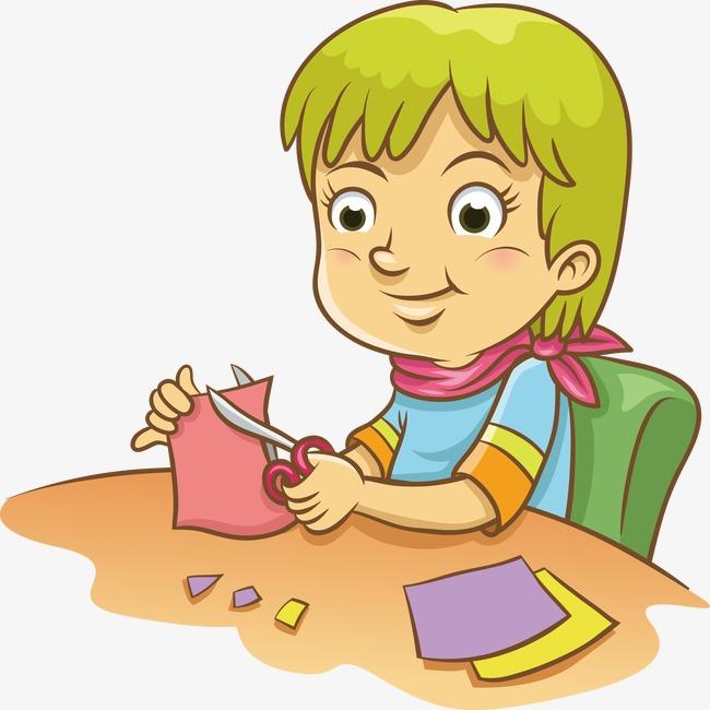 Cartoon Kids Craft