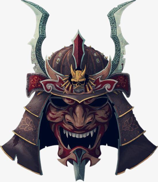鬼武士面具