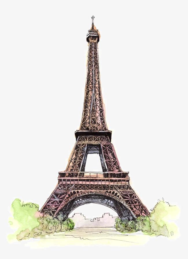 精美手绘名胜古迹建筑素材图片免费下载 高清装饰图案png 千库网 图片编号3705057