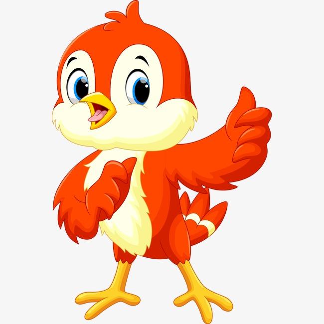 可爱卡通小鸡