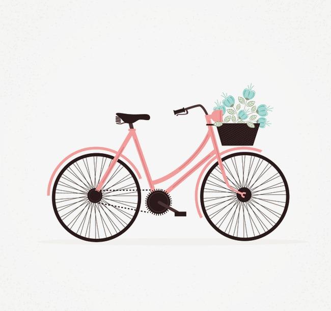 图片 > 【png】 粉色自行车  分类:手绘动漫 类目:其他 格式:png 体积