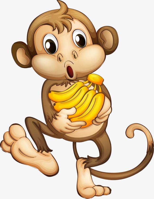 卡通小猴子囹�a_本次卡通小猴子作品为设计师cyfang*创作,格式为png,编号为 16170328
