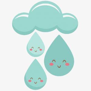 卡通雨滴素材图片免费下载 高清卡通手绘png 千库网 图片编号3755814