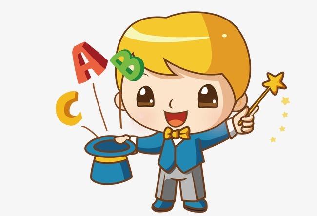 图片 > 【png】 卡通魔术师矢量图  分类:手绘动漫 类目:其他 格式:pn
