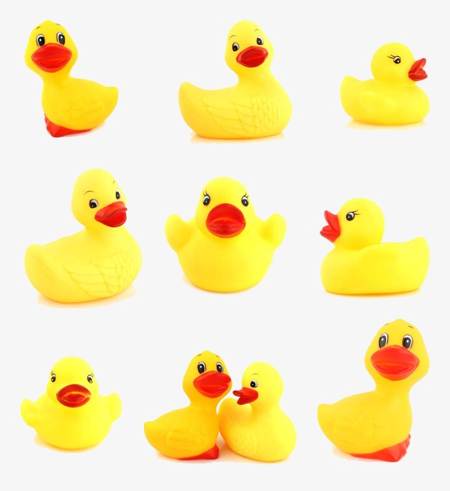 可爱小黄鸭